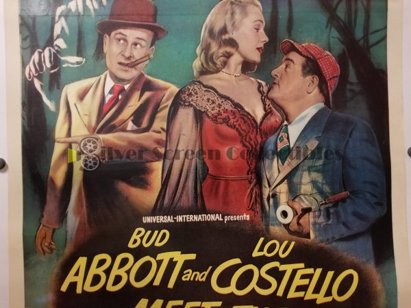 One Sheet from Abbott and Costello Meet the Invisible Man
