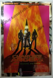 Charlie's Angel Lucy Liu Signed One Sheet Poster