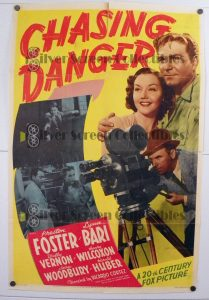 One Sheet Poster from Chasing Danger