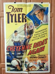 One Sheet Movie Poster from Cheyenne Tides Again