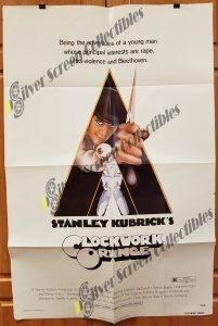 One Sheet Movie Poster from Clockwork Orange