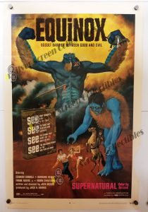 One Sheet Movie Poster from Equinox