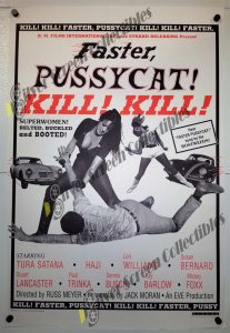 One Sheet Movie Poster from Faster Faster Pussycat Kill Kill
