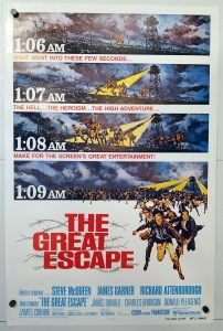 One Sheet Movie Poster from The Great Escape