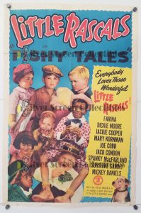 One Sheet Movie Poster from The Little Rascals Fishy Tales