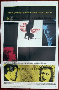 One Sheet from The Man With the Golden Arm