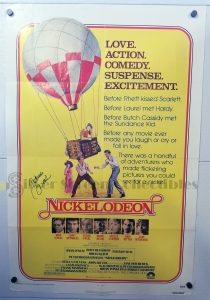 One Sheet Movie Poster from Nickelodeon