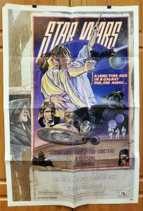 One Sheet Movie Poster from Star Wars