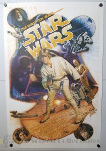 One Sheet Movie Poster from Star Wars The First Ten Years