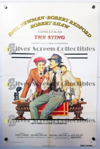 One Sheet Poster from The Sting