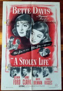 One Sheet Movie Poster from A Stolen Life