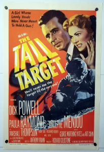 Lobby Card from The Tall Target