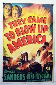 One Sheet Movie Poster from They Came to Blow Up America