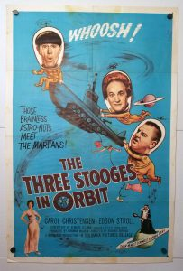 One Sheet Movie Poster from The Three Stooges in Orbit