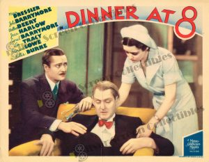 Lobby Card from Dinner at 8