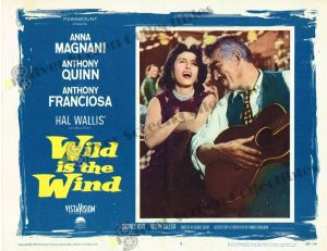 Lobby Card from Wild is the Wind
