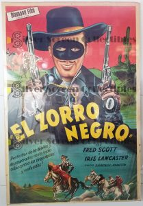 Argentinean Movie Poster from Ridin the Trail