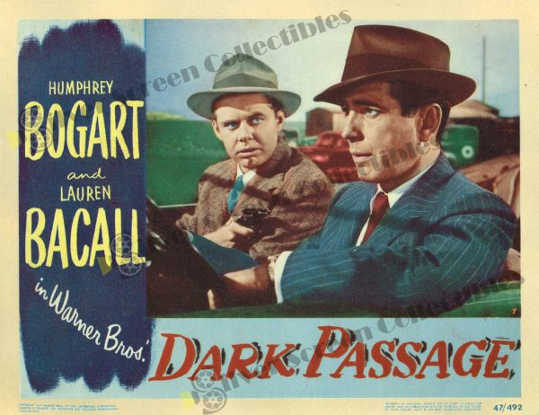 Lobby Card from Dark Passage