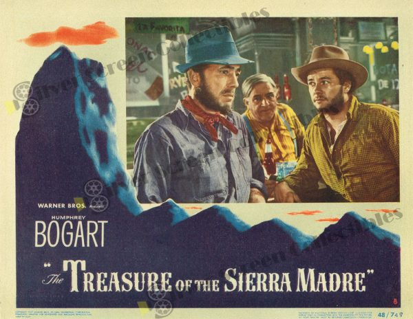 Lobby Card From Treasure of the Sierra Madre