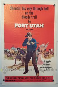 One Sheet Movie Poster From Fort Utah