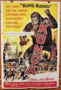 One Sheet Movie Poster From Konga