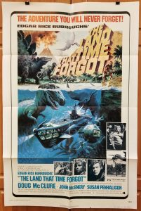 One Sheet Movie Poster From Land that Time Forgot