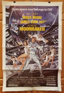One Sheet Movie Poster From Moonraker