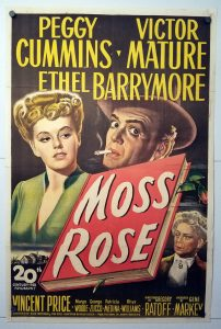 One Sheet Movie Poster From Moss Rose