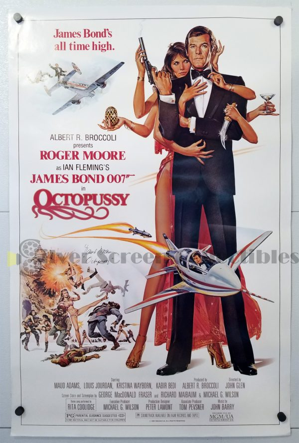 One Sheet Movie Poster From Octopussy