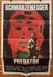 One Sheet Movie Poster From Predator