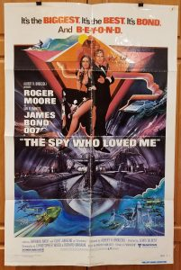 One Sheet Movie Poster From Spy Who Loved Me