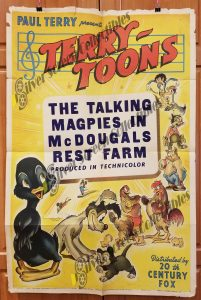One Sheet Movie Poster From Terry Toon Cartoons