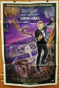 One Sheet Movie Poster From View to a Kill