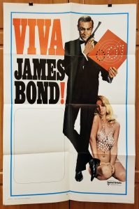 One Sheet Movie Poster From Viva James Bond