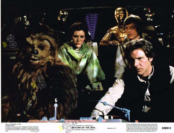 Lobby Card from Star Wars Return of the Jedi