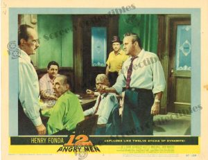 Lobby Card from 12 Angry Men
