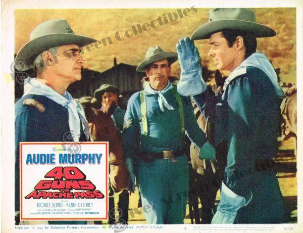 Lobby Card From 40 Guns to Apache Pass