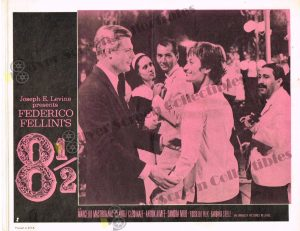 Lobby Card from 8 1/2 (Eight and a half)
