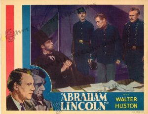 Lobby Card From Abraham Lincoln