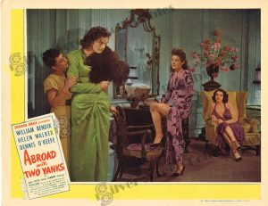 Lobby Card From Abroad with Two Yanks