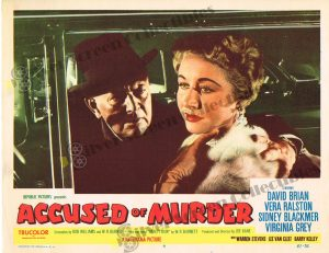 Lobby Card From Accused of Murder
