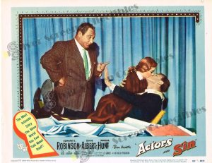 Lobby Card From Actors and Sin