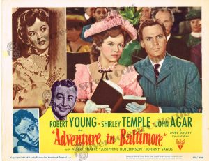 Lobby Card From Adventure in Baltimore