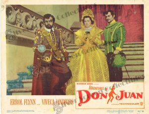 Lobby Card from Adventures of Don Juan