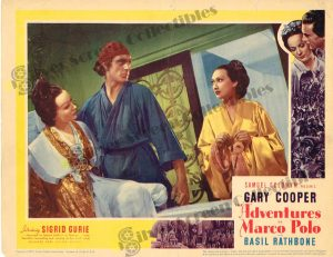 Lobby Card fromThe Adventures of Marco Polo