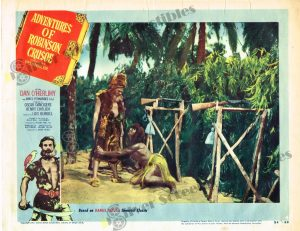 Lobby Card from Adventures of Robinson Crusoe