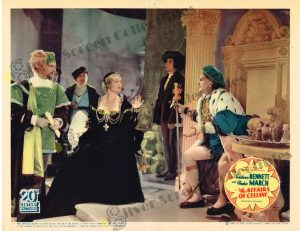 Lobby Card fromThe Affairs of Cellini