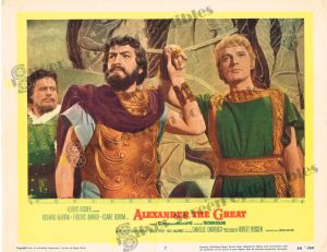 Lobby Card from Alexander the Great