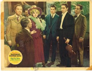Lobby Card From Alexander's Ragtime Band