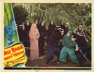 Lobby Card from Ali Baba and the Forty Thieves